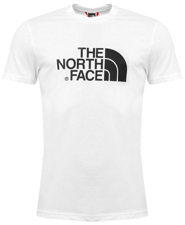 The North Face White Logo Tee  - Click to view a larger image