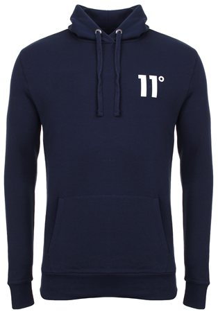 11degrees Navy Core Hoody  - Click to view a larger image