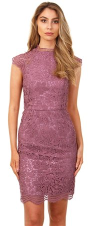 Chi Chi London Purple Dress  - Click to view a larger image