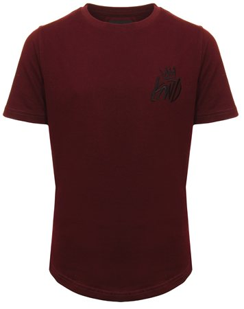 Kings Will Dream Burgandy Permel Tee  - Click to view a larger image
