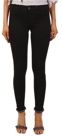 Pieces Black Shape Up Skinny Jeggings  - Click to view a larger image