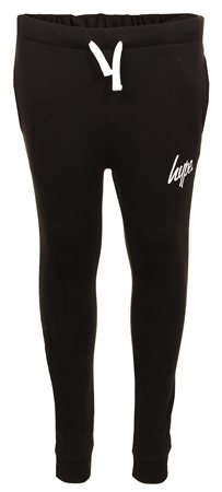 Hype Black Basic Script Jogger  - Click to view a larger image