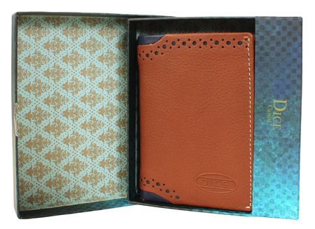 Dice Tan Brandwell Wallet  - Click to view a larger image