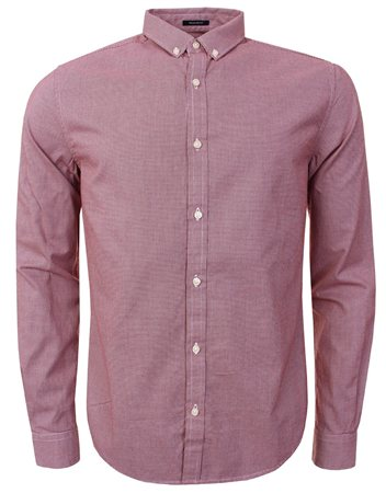 Superdry Red Premium City Shirt  - Click to view a larger image