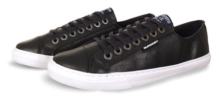 Superdry Navy Premium Low Pro Sneakers  - Click to view a larger image