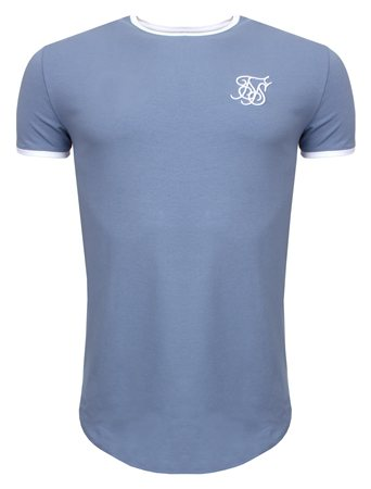Siksilk Blue Heritage Gym Tee  - Click to view a larger image