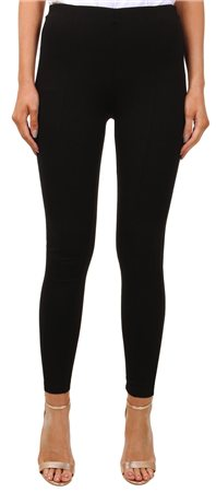 Vila Black Fellow Skinny Mid Rise Leggings  - Click to view a larger image