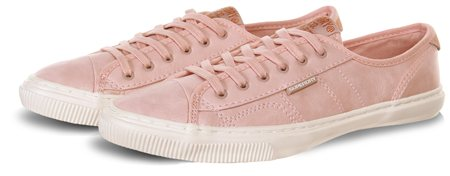 Superdry Pink Low Pro Trainer  - Click to view a larger image