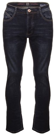 Eto Jeans Dark Denim Rio Tapered Fit Jeans  - Click to view a larger image
