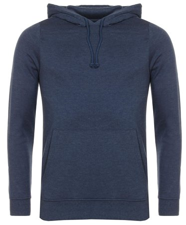 Brave Soul Blue Clarence Hoody  - Click to view a larger image