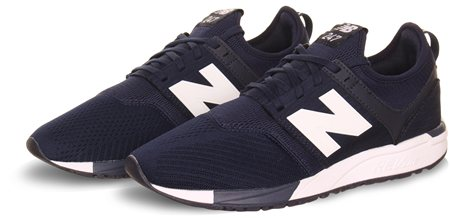 New Balance Navy 247 Rev Lite Trainers  - Click to view a larger image