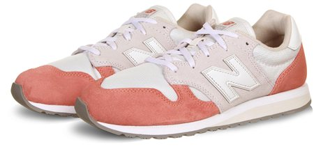 New Balance Dusted Peach White 520 Trainer  - Click to view a larger image
