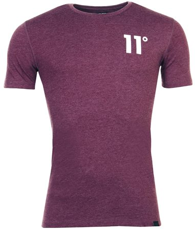 11degrees Aubergine Tee  - Click to view a larger image