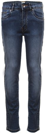 Enzo Stonewash Darkstone Wash Denim Jeans  - Click to view a larger image