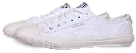 Superdry White Low Pro Sneaker  - Click to view a larger image