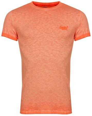472887ec Superdry Hyper Pop Orange Orange Label Low Roller T-Shirt | | Shop the  latest fashion online @ DV8