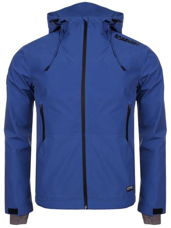 Superdry Electric Blue Hooded Elite Windcheater  - Click to view a larger image