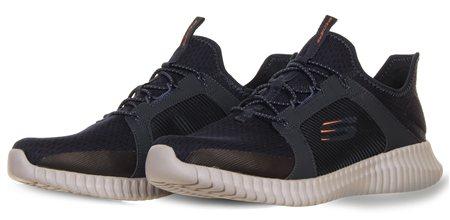 Skechers Navy Elite Flex Shoes  - Click to view a larger image