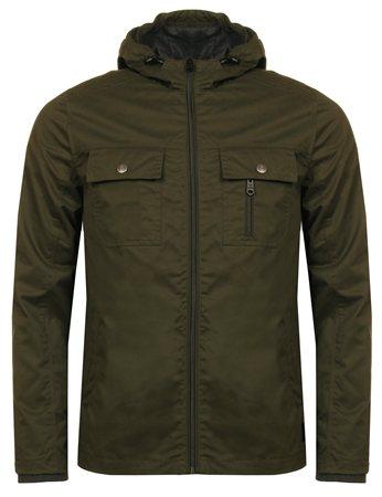 Threadbare Khaki Barcelona Jacket  - Click to view a larger image