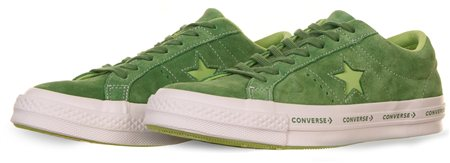 Converse Mint Green/ Jade Lime One Star Pinstripe  - Click to view a larger image