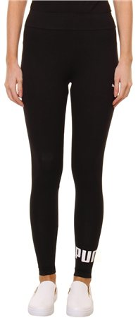 Puma Cotton Black Leggings  - Click to view a larger image