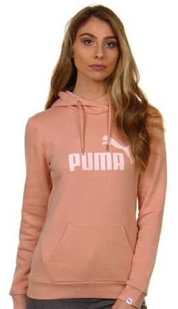 Puma Peach Beige Essential Hoodie  - Click to view a larger image