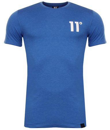11degrees Cobalt Blue Core Tee  - Click to view a larger image