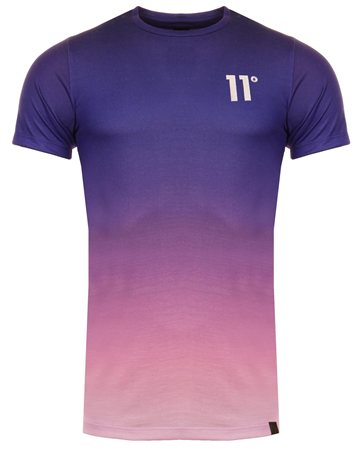 11degrees Purple Fade Sub Tee  - Click to view a larger image