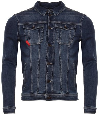 11degrees Indigo Denim Jacket  - Click to view a larger image