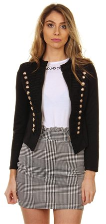 Cutie London Black Jacket  - Click to view a larger image