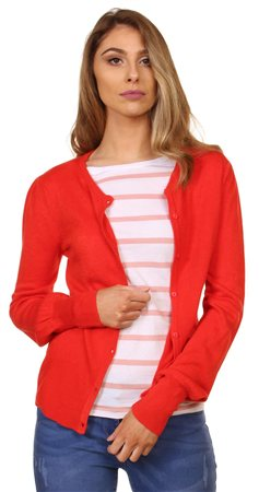 Jdy High Risk Red Cardi  - Click to view a larger image