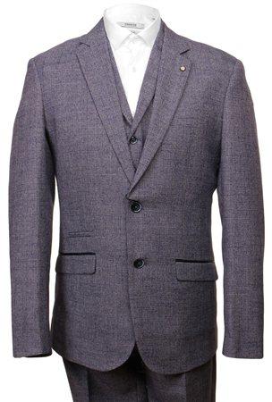 Cavani Blue 3 Piece Suit  - Click to view a larger image