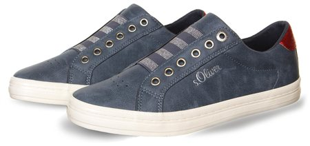 S.Oliver Navy Shoe  - Click to view a larger image