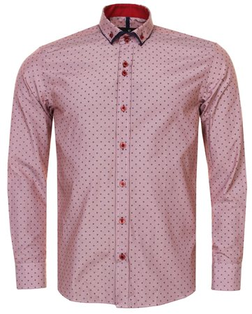 Ottomoda Burgundy Shirt  - Click to view a larger image