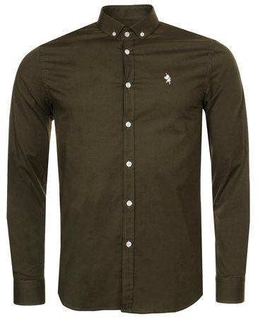 Alex & Turner Khaki Shirt  - Click to view a larger image