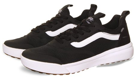 9d7b5c7093e2c4 Vans Black-White Ultrarange Rapidweld Shoes - Click to view a larger image