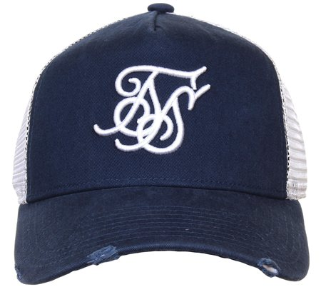 Siksilk Navy Cap  - Click to view a larger image