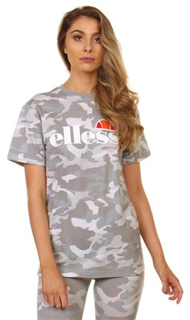 Ellesse Grey Camo Tee  - Click to view a larger image