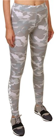Ellesse Grey Camo Leggings  - Click to view a larger image