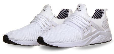 Certified White Mono Trainers  - Click to view a larger image