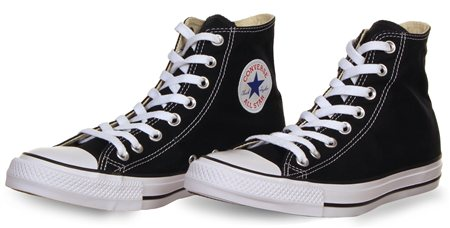Converse Black (Mens) Chuck Taylor All Star Classic  - Click to view a larger image