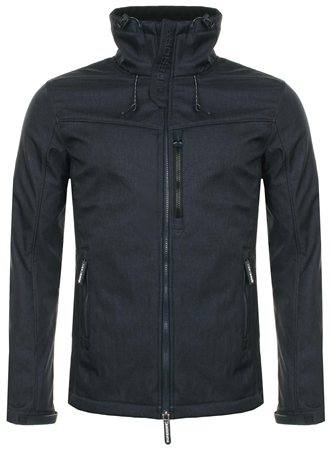 Superdry New Navy Marl & Black Sd Windtrekker  - Click to view a larger image