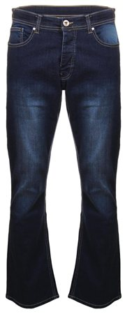 Dv8 Dark Blue Denim Bootcut Jean  - Click to view a larger image