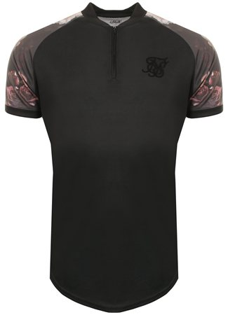 Siksilk Antique Rose Tee  - Click to view a larger image