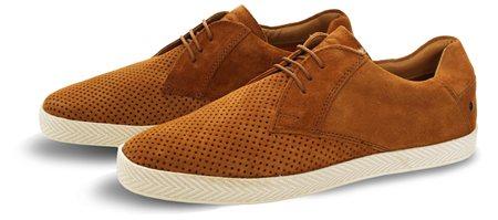 detailed look df99f b7f4d Tan Keel Textured Shoe - 41