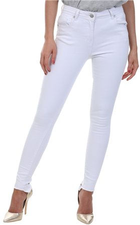 Parisian White Skinny Jean  - Click to view a larger image
