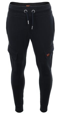 Superdry Eclipse Navy Cargo Pocket Cuffed Jogger  - Click to view a larger image