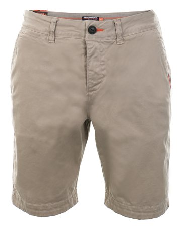 Superdry Corps Beige International Chino Short  - Click to view a larger image
