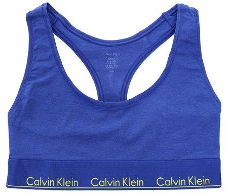 e0cdf8193c0d2 Calvin Klein Pure Cerulean Unlined Bralette