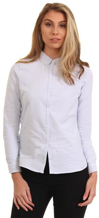 Veromoda Blue & White Stripe Katie Shirt  - Click to view a larger image